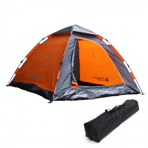 1.DOPPELGANGER OUTDOOR 2-3人用 ワンタッチテント T3-30 紐を引くだけの15秒設営! 重量3.5kg