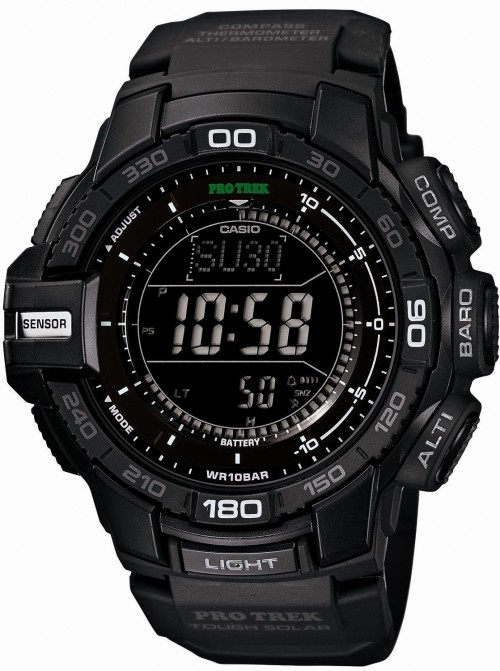 3.[カシオ]Casio 腕時計 PROTREK カシオ プロトレック トリプルセンサーVer.3搭載 ソーラーウォッチ PRG-270-1AJF メンズ