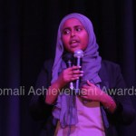 Halkan Ka Daawo: Gabadh yare Bilan Maxmed Bare oo 15 Jir ah Kuna dhalatay Dalka UK ayaa maanso (I am somali) ka jeedisay goob laysugu yimi.