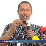 Daawo:Gudoomiyaha Xisbiga Kulmiye oo Hadhimo Sharafeed u sameyey Warbaahinta Somaliland.04.06.17