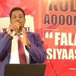 Madaxa Ololaha Xisbiga Waddani Oo Fariin U diray Shacabka Somaliland iyo Inay Isu Soo Baxaan..22.10.17