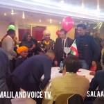 Daawo Muqaal:Sarkaal Ka Tirsan Ciidamada Bada Somaliland oo London loogu sameeyey xaflad soo dhaweyna..04/03/2018
