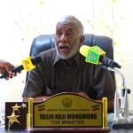Daawo Muqaal:Wasiirka Waxbarashada Somaliland Oo Shaaciyay Wakhtiga Lagali Doono Imtixaanka Shahadiga Ah..June 18.18