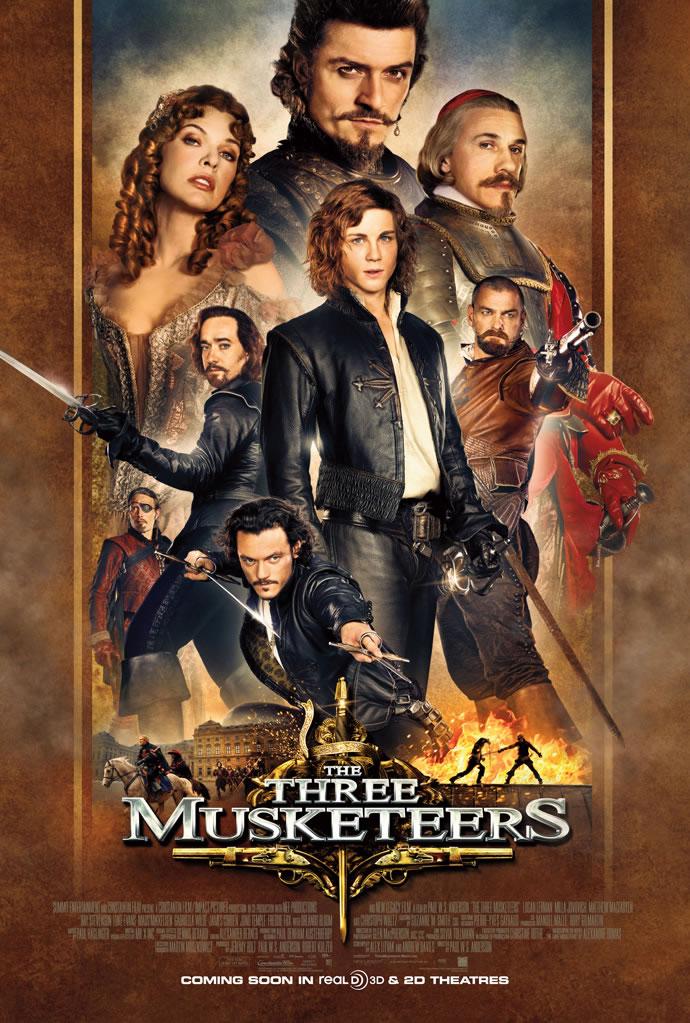 Poster do filme Os Três Mosqueteiros