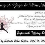 Evening of Yoga & Wine