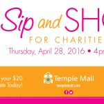 Sip & Shop for Charities