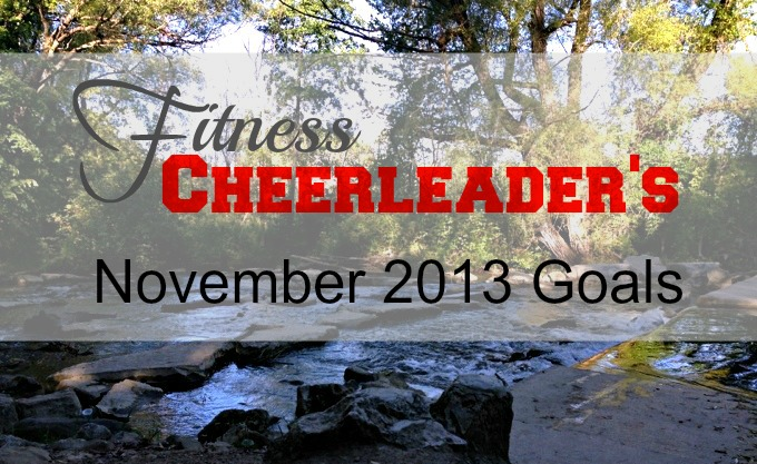 Motivation Monday: My November Goals