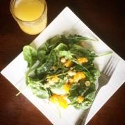 Spinach and Quinoa Citrus Salad with Homemade Citrus Vinaigrette