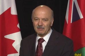 پیام تبریک ویدئویی دکتر رضا مریدی نماینده پارلمان انتاریو به مناسبت ۱۵ سالگی سلام تورنتو