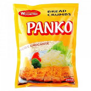 Farinha Panko para empanar Sticks de mussarela