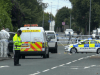 Paul Massey shot dead - Police at scene Manchester Road Clifton