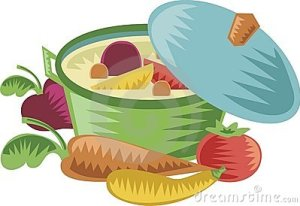 clipart stew pot