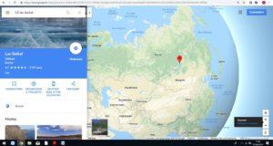 Le Lac Baïkal en Sibérie (RUSSIE)