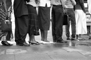 \Are queuing customers part of your salon business plan?\