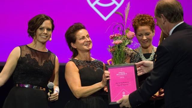 Vi vann Årets Miljöpris/Miljöäpplet på Sundsvall Business Award