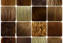 Massor med kundfoton på örtfärgade hår