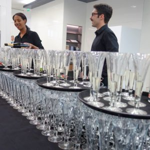 Waiting staff and bartenders for London gallery events