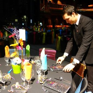 Waiting staff for corporate events in London and surrounding areas