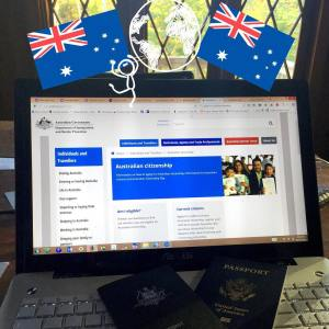 Spent the afternoon applying for Crews Australian citizenship seriously Ihellip