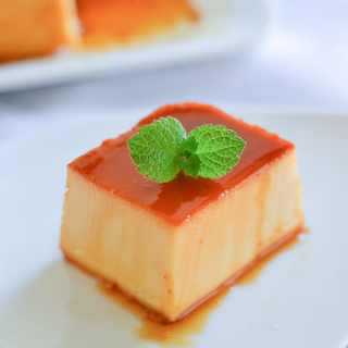 Leche Flan with Cream Cheese