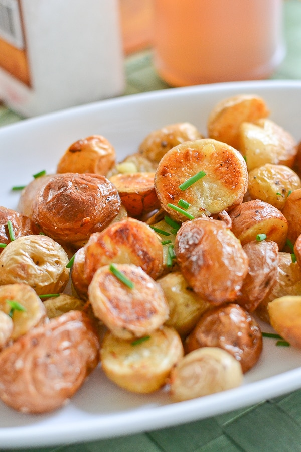 Salt and Vinegar Roasted Potatoes - Salu Salo Recipes