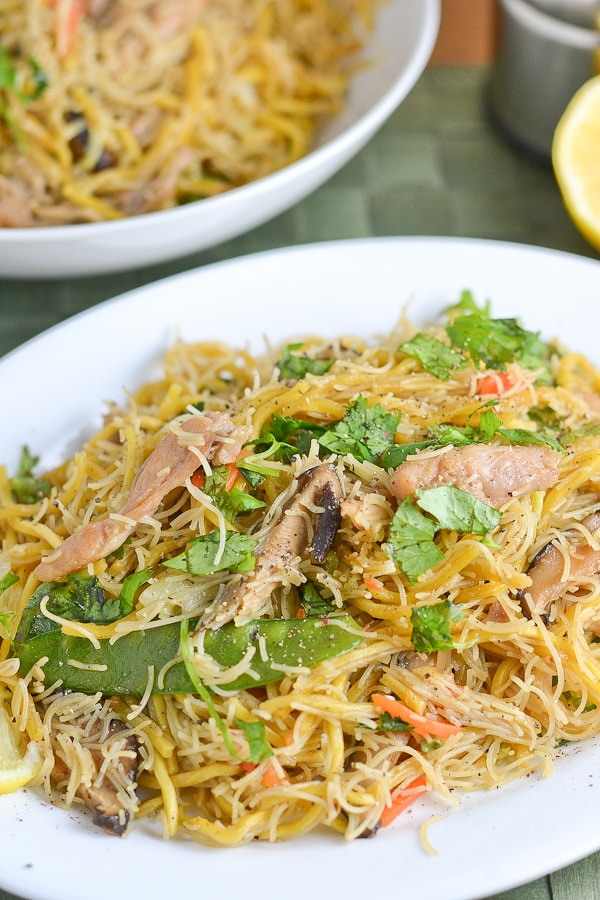 Pancit Canton and Bihon - Filipino Noodles