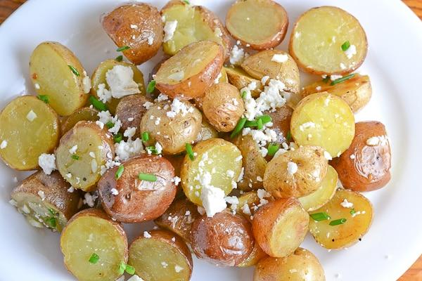 Roasted Potato with Feta Cheese and Lemon Vinaigrette - Salu Salo ...
