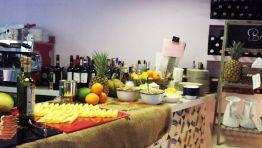 Foto robada del banquete mañanero