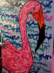 Decoración flamenca del bar
