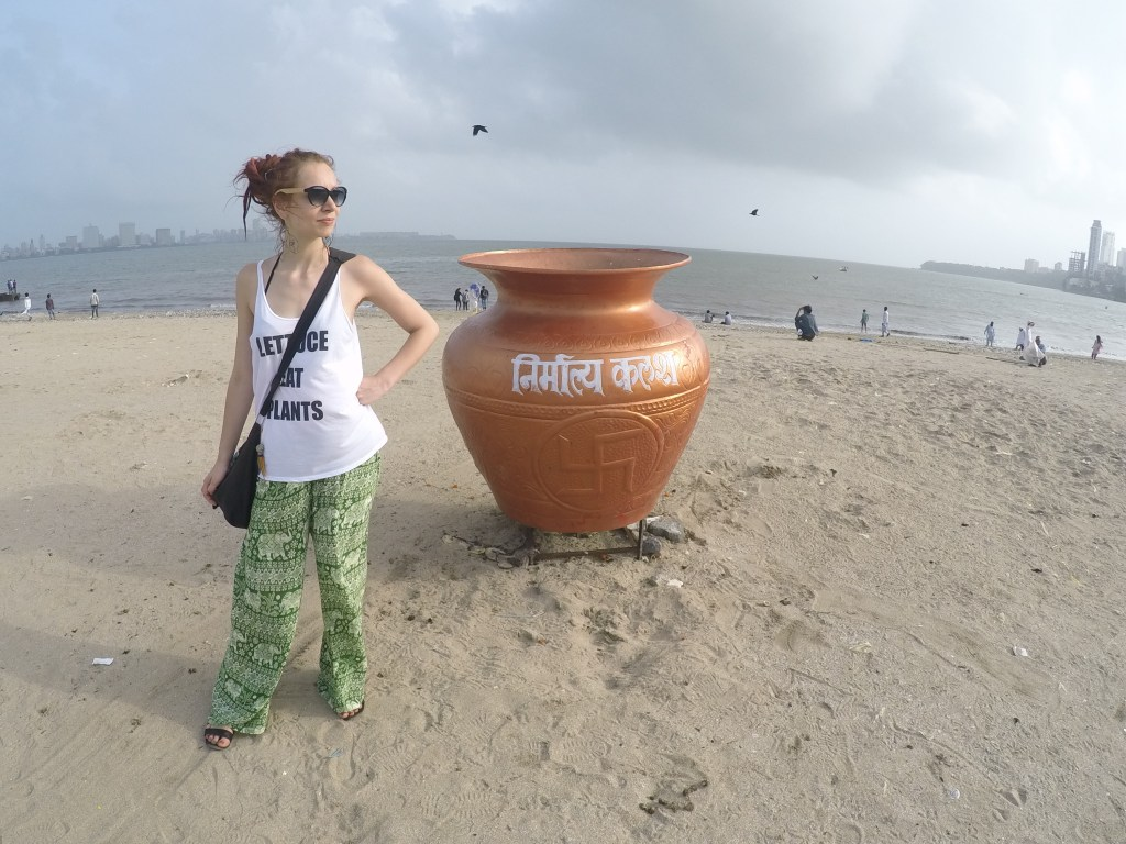 You don't find many dustbins in Mumbai, but if you do, they are epic