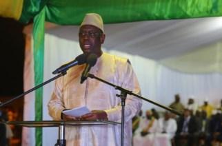 Macky Sall au meeting de clôture référendum 2016 Sénégal