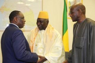 Le Président Macky Sall auprès du khalife général de Darou Mousty