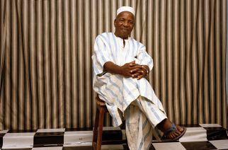 Le photographe malien Malick Sidibé, à Bamako en 2009. Photo Philippe Guionie. Myop