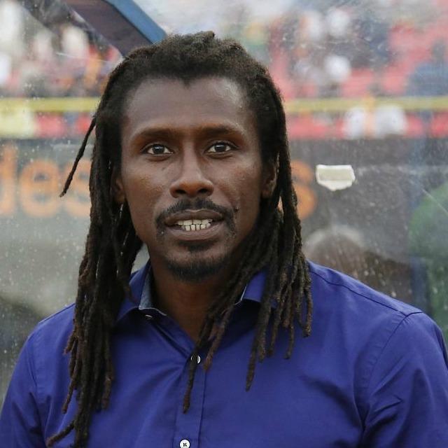 Aliou Cissé, lions contre Rwanda