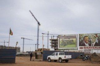 Pôles urbain et industriel de Diamniadio, à 30 km au nord de Dakar. © Sylvain Cherkaoui pour Jeune Afrique
