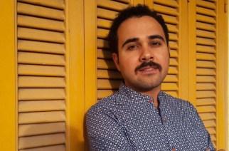 """Ahmed Naji condamné à deux-ans-de-prison-pour-un-chapitre-de-son-roman-lUsage de la vie""""Yasmin-Hosam El Din/AP/SIPA.jpg"""