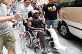 Demba Ba a quitté l'hôpital