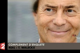 Vincent Bolloré dans le reportage Complément d'enquête - capture d'écran Zapping de Canal +