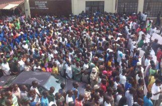 Burundi : Grande manifestation anti-française à Bujumbura ( Photo : Mizero Racine 2016 )