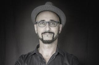 Autoportrait de l'artiste Antoine Tempé, 25 août 2016.
