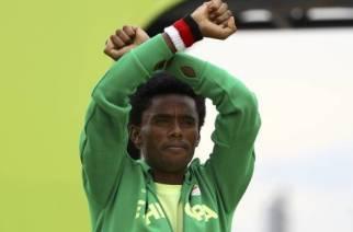 JO de Rio : Feyisa Lilesa, «Je vais peut-être être tué en rentrant en Ethiopie»
