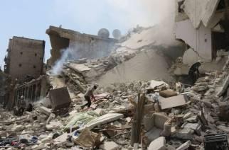 Il s'agit du bilan de morts le plus élevé depuis mercredi et le début de l'opération Bouclier de l'Euphrate.© THAER MOHAMMED - AFP