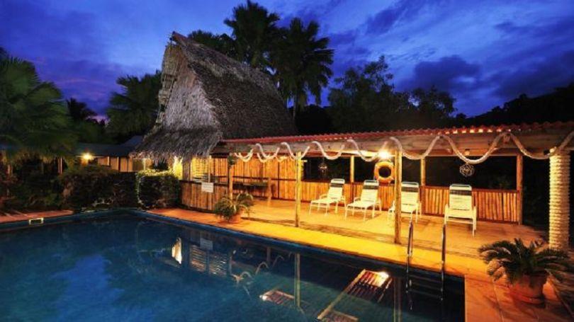 L'hôtel de Doug et Sally, sur l'île de Kosrae en Micronésie (© Kosrae Nautilus Resort)