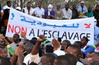 Manifestation contre les discriminations à Nouakchott, capitale mauritanienne, en avril 2015. CRÉDITS - AFP