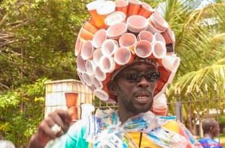 """VIDÉO – Consécration : """"L'homme plastique"""", Modou Fall décoré de l'Ordre national du mérite"""
