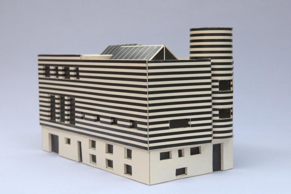 Adolf Loos' model for Josephine Baker's house
