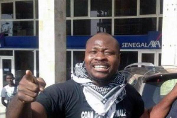 Manifestation Contre La Venue De Valls A Dakar : Guy Marius Sagna Du Collectif « Non Aux Ape » Brutalisé Et Arrêté Par La Police