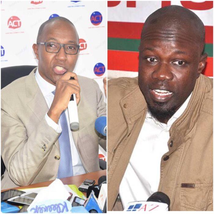 Ousmane Sonko, Abdoul Mbaye