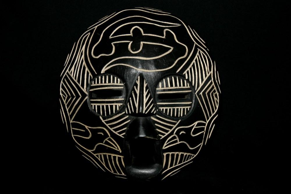 masque afrique Luba