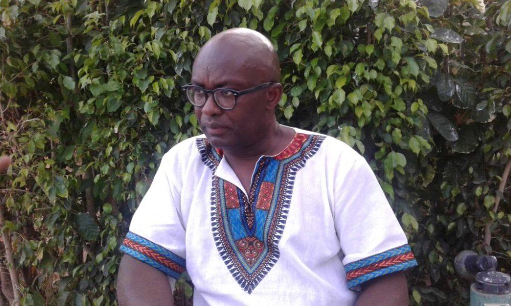 Achille Mbembe à Dakar. Photo Parfait Tabapsi